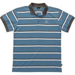 Πόλο Γαλάζιο Ριγέ Κοντομάνικο Μπλουζάκι John Deere