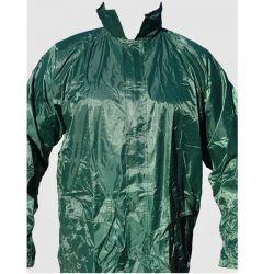 Αδιάβροχη Καπαρντίνα PVC Με Kουκούλα Πράσινη Rain
