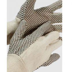 Γάντια Βαμβακερά Με Κόκκους Cotton Dot