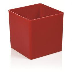 Γλάστρα Τετράγωνη 15cm Κόκκινη