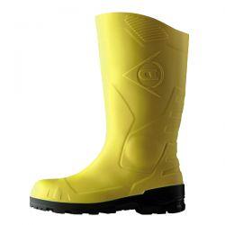 Μπότα Ασφαλείας Κίτρινη Dunlop Devon