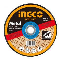 Δίσκος Κοπής Μετάλλων - Inox 115mm Ingco