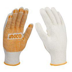 Γάντια Βαμβακερά με Κόκκους