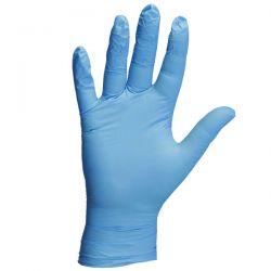 Γάντια Νιτριλίου Μιας Χρήσης Μπλε