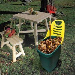 Καρότσι Κήπου Πλαστικό 65Lit BAX