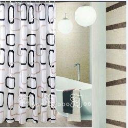 Κουρτίνα Μπάνιου Ύφασμα (Κρίκοι) 180x200