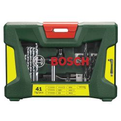 Σετ Κασετίνα Τρυπάνια Και Καρυδάκια 41 Τεμαχίων Bosch