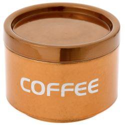 Κουτί Μεταλλικό Coffee Μπρονζέ 13x9,5cm
