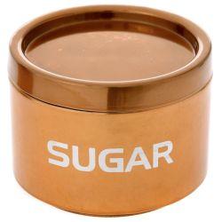 Κουτί Μεταλλικό Sugar Μπρονζέ 13x9,5cm