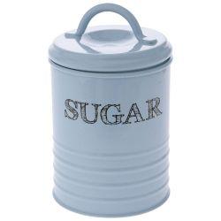 Κουτί Μεταλλικό Sugar Γαλάζιο 10x17cm