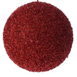 Μπάλα Κόκκινη Με Στράς Φ20cm