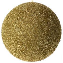 Μπάλα Χρυσή Με Στράς Φ25cm