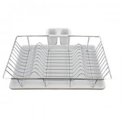 Πιατοθήκη Μεταλλική Με Πλαστικό Δίσκο 48x31x10cm