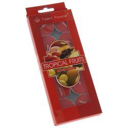 Κερί Ρεσώ Tropical Fruits 10τμχ