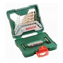 Σετ Κασετίνα Τρυπάνια Και Καρυδάκια Με Τριπάνια Τιτανίου 30 Τεμαχίων Bosch