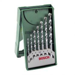 Σετ Κασετίνα Τρυπάνια Πέτρας 7 Τεμαχίων Bosch