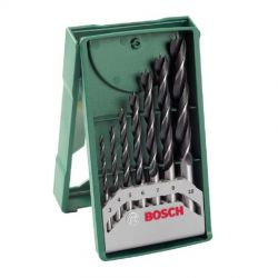 Σετ Κασετίνα Τρυπάνια Ξύλου 7 Τεμαχίων Bosch