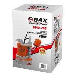 Υποβρύχια Αντλία Ακάθαρτων Και Ομβριων Υδάτων 750W Βax