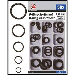 Σετ Λαστιχάκια O-ring 50 Τεμ Kraftman