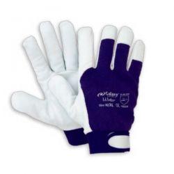 Γάντια Δερματοπάνινα Winter