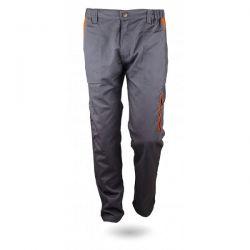 Παντελόνι Εργασίας Γκρί - Πορτοκαλί 240g/m2 GLX30