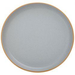 Πιάτο Φαγητού  Κεραμικό Γκρί 27cm