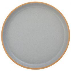 Πιάτο Γλυκού  Κεραμικό Γκρί 20cm