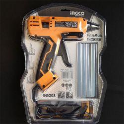 Ηλεκτρικό Κολλητήρι Θερμόκολλας Επαγγελματικό 220w Ingco + Δώρο 8 Ανταλλακτικά Stick