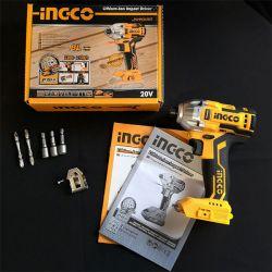 Παλμικό Κατσαβίδι Μπαταρίας Επαγγελματικό 20v Solo Ingco
