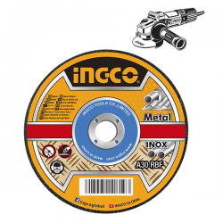 Δίσκος Κοπής Σιδήρου - Inox 125mm Σέτ 10τμχ Ingco