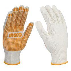 Γάντια Βαμβακερά με Κόκκους XL