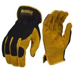 Γάντια Driver Hybrid Υβριδική λειτουργικότητα δέρματος DeWalt
