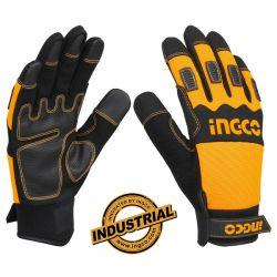 Γάντια Μηχανικών XL με Ενισχυμένη Επένδυση