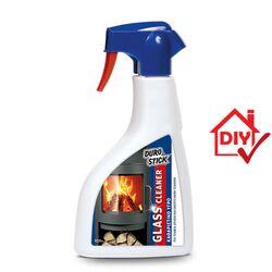 Καθαριστικό Υγρό Για Τζάμια Απλών Και Ενεργειακών Τζακιών Glass Cleaner 500ml DuroStick - 3250056