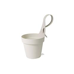 Κρεμαστή Γλάστρα App My Mood 18 Λευκό Plastecnic - 007.7761851