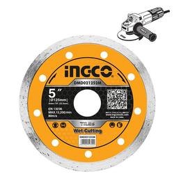 Διαμαντόδισκος Πλακιδίων Ξηράς Κοπής 125mm Ingco