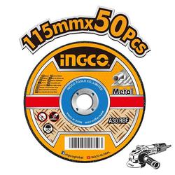 Δίσκοι Κοπής Σιδήρου 50 Τεμαχίων Φ115 Ingco
