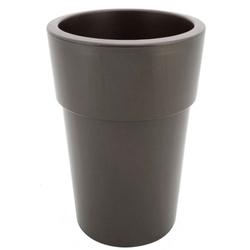 Γλάστρα Linea Ψηλή Γκρι Καφέ Viomes - 023.884