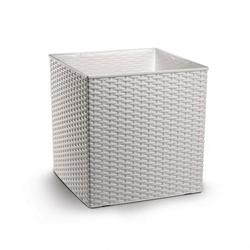 Κύβος Natura 36x36 Λευκό Plastona - 021.0708L