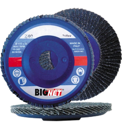 Δίσκος Λείανσης Βεντάλια Κόκκωση 60 Bignet - 345L115Z060TNP