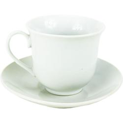 Σετ Φλυτζάνια Τσαγιού Λευκό 6Τεμ  7.2 x 6.7 x 12.5cm Viosarp - 5206753018827