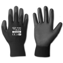 Γάντια Νιτριλίου Pure Black Μαύρα No11 Bradas - RWPBC11