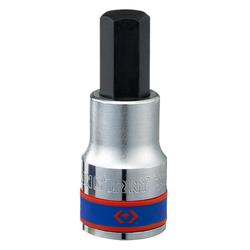 Καρυδάκι Allen Κοντό Εξάγωνο 19mm 1/2'' King Tony - 402519