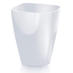 Κασπώ Πλαστικό Coubi Orchid Λευκό 13x13x17cm - 289092188