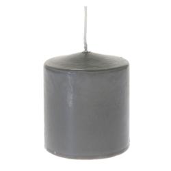 Κερί Κύλινδρος Γκρι 7x8cm - 28933410