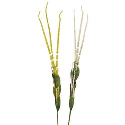 Κλαδί Άσπρο-Κίτρινο 105cm - 289160023