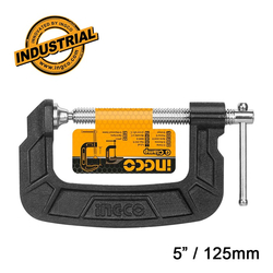 """Σφιγκτήρας Τύπου G 5"""" / 125mm Ingco"""