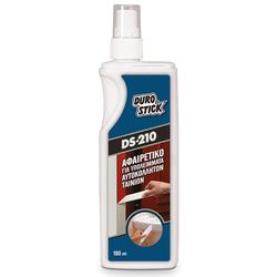 Καθαριστικό Υπολειμμάτων Κόλλας Από Αυτοκόλλητες Ταινίες DS-210 180ml DuroStick - 3250054