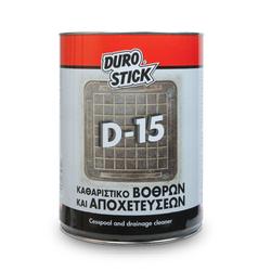Καθαριστικό Βόθρων & Αποχετεύσεων D-15 5kg DuroStick - 3250053