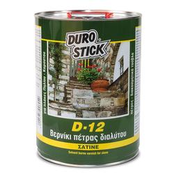 Βερνίκι Πέτρας Διαλύτου D-12 1Lit DuroStick - 3250108